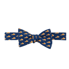 VA Gameday Navy Bow